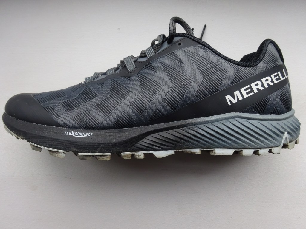 test chaussure de trail merrell Agility Synthesis Flex morning runner