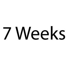 7weeks