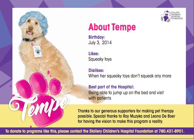Tempe Hospital Card