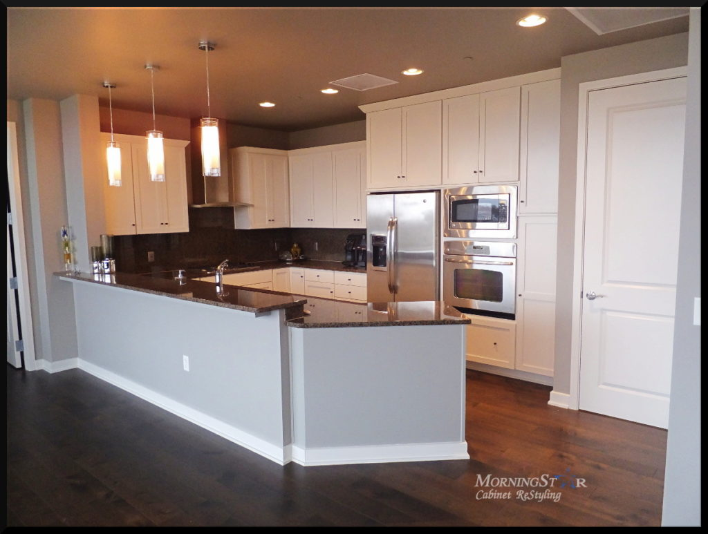 refinishing oak kitchen cabinets taylor scale portfolio - kansas city cabinet restyling and ...