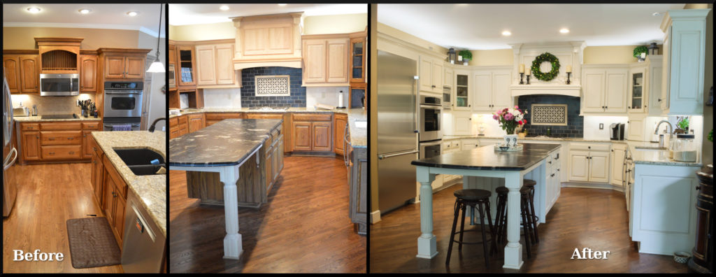 Refinishing Oak Cabinets Before And After Pictures www
