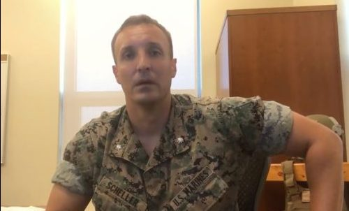 U.S. Marine Punished for Criticizing Afghanistan Withdrawal