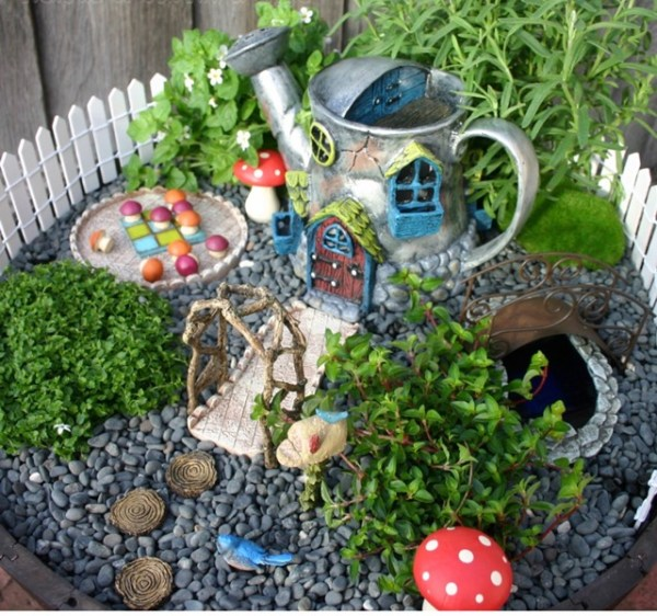 fairy gardens area