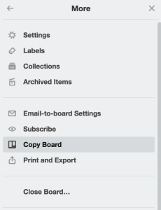 How to copy a board on Trello - How to Use Trello to Manage Your Business