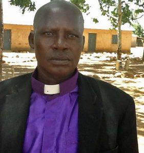 The Rev. John Mwatbang of New Life Christ Church. (Morning Star News photo)