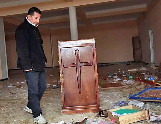 Church Building in Algeria Looted Vandalized