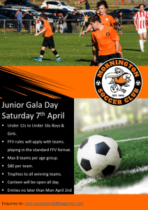 Junior Gala Day | Mornington Soccer Club @ Dallas Brooks Park