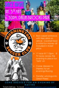 Racing Night Fundraiser @ Dallas Brooks Park
