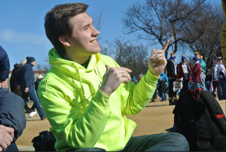 2018 March for Life, Daniel Sutkowski