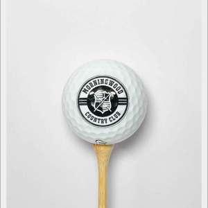 MorningWood Country Club Logo Golf Ball