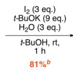 ヨードホルム反応で合成する!アセチル基の選択的脱メチル化反応
