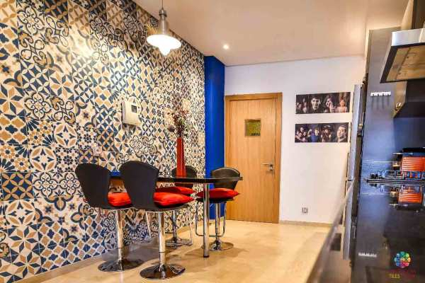 Moroccan tiles | The beauty of tiles on coffee space