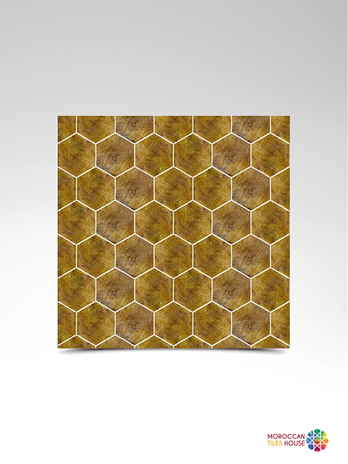 Babel Yellow Hexagonal
