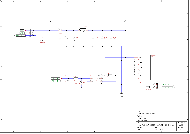 hight resolution of usb midi host schematic board