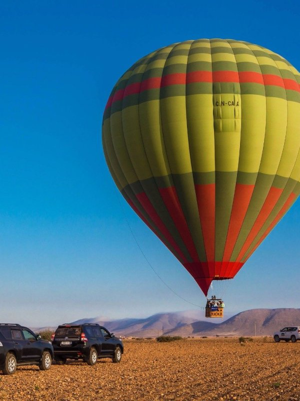 hot air ballon marrakech