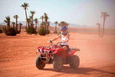Marrakech excursion quad biking