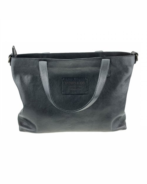 Moro & Co – Handmade in Italy – Borsa in pelle di vitello nero