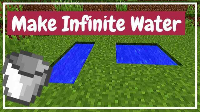 How to Make Infinite Water Source in Minecraft?  MOROESPORTS