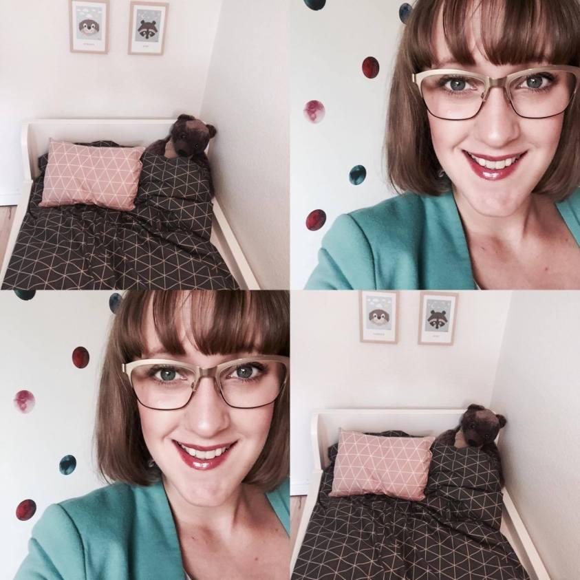 Morogmor blog - Marie og hjemmesyet sengetøj