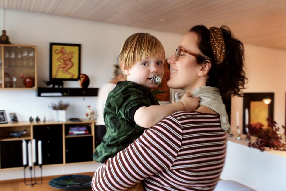 Morogmor blog Vilfred og mor marie til fødselsdag