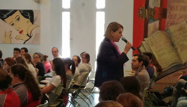 Cuarta sesión celebrada en el IES Fuente Nueva