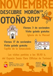 TURISMO. Visita guiada a la Iglesia de La Merced. 3 de noviembre @ Iglesia de La Merced  | Morón de la Frontera | Andalucía | España