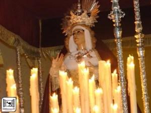 COFRADE. Solemne Besamanos María Stma. de la Amargura. 9 y 10 de noviembre. Iglesia de María Auxiliadora @ Iglesia de María Auxiliadora