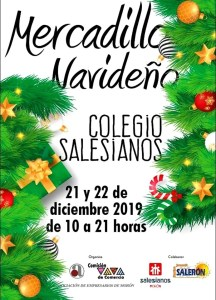 SOCIEDAD. Mercadillo navideño, AEM. 21 y 22 de diciembre. Colegio Salesiano. @ Colegio Salesiano