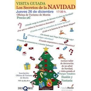 """TURISMO. Ruta """"Los secretos de la Navidad"""", Asociación DesQbre. 26 de diciembre. @ Espacio Santa Clara"""