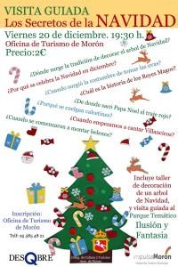 """TURISMO. Ruta """"Los secretos de la Navidad"""", Asociación DesQbre. 20 de diciembre. @ Espacio Santa Clara"""