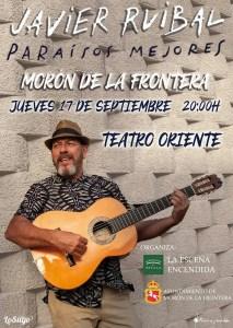 MÚSICA. PARAISOS MEJORES - JAVIER RUIBAL. 17 de septiembre. Teatro Oriente @ Teatro Oriente