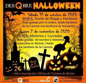 TURISMO. Desqbre Halloween. 31 de octubre y 2 de noviembre @ Jardines de La Carrera