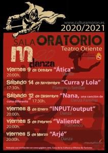 """DANZA. """"Ática"""". 9 de octubre. Sala Oratorio @ Sala Oratorio"""