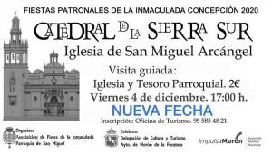 """TURISMO. Visita guiada """"Iglesia y Tesoro Parroquial de San Miguel"""". 4 de diciembre @ Iglesia de San Miguel"""