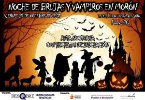 SOCIEDAD. Ruta guiada: noche de brujas y vampiros en Morón. 29 de octubre @ Oficina de Turismo