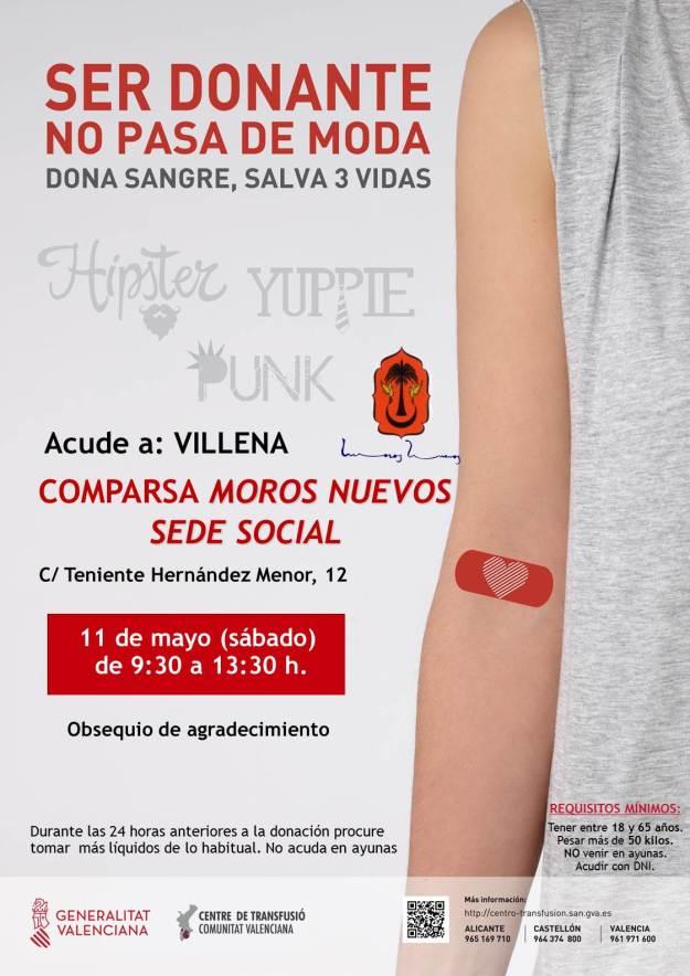 Donación de Sangre 11 de Mayo en «La Jaima»