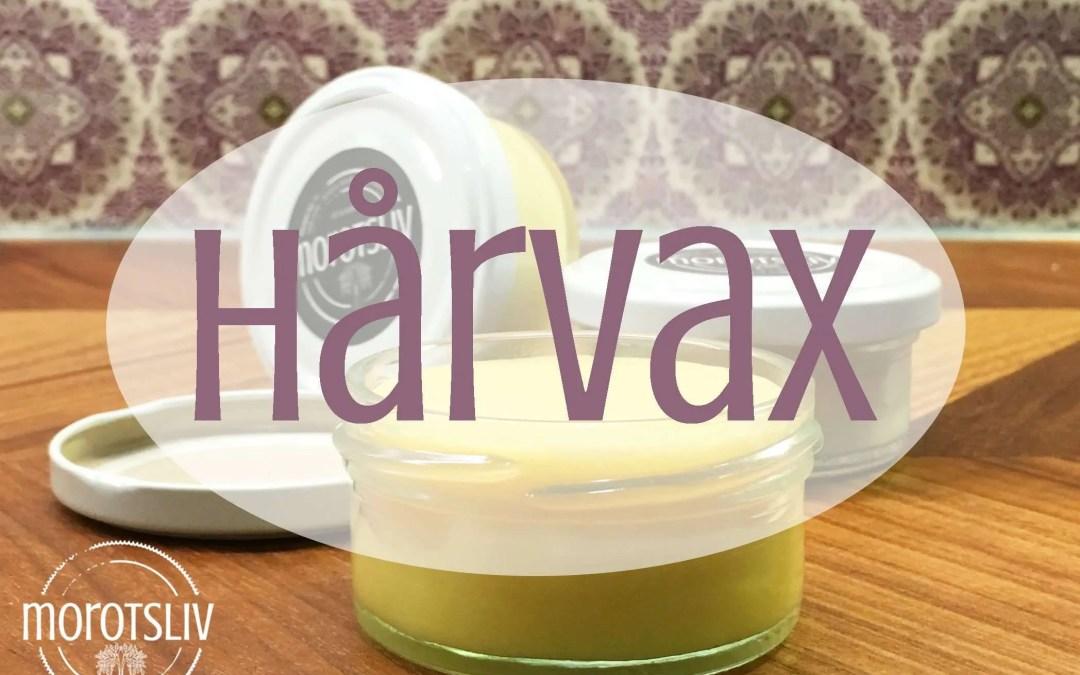 Gör eget giftfritt hårvax