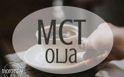 MCT-olja för energi och skärpa