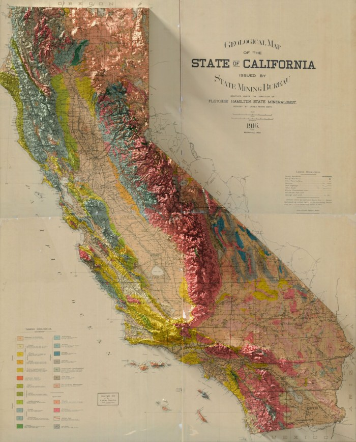 California Geological Map