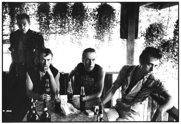 A Photo of the Clash from the Combat Rock Album