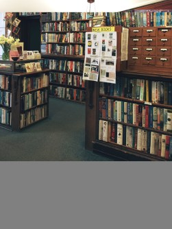 Fiction in the reception room
