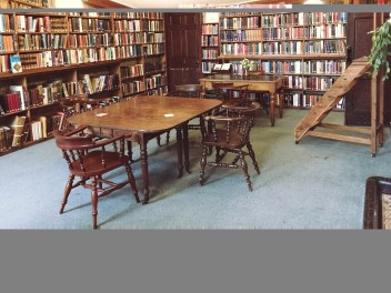 The spacious main Reading Room