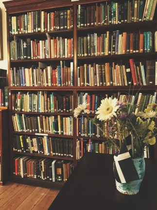 Book cases in the the Jenner Room (Celtic Studies)
