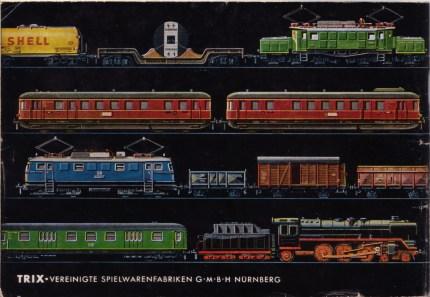 Trix Express 1954 back