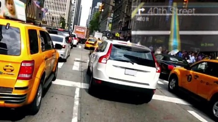 Google Glass in traffic