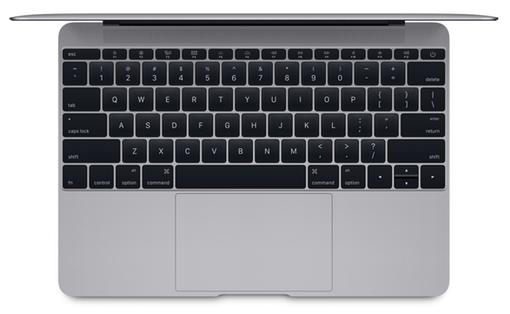 MacBook retina 12 top view s