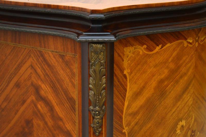 Antiker Intarsien Schrank Sideboard