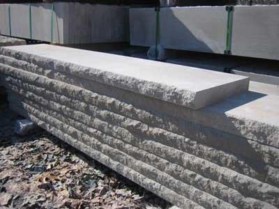 Tread Caps Morris Brick Stone Morristown Nj | Outdoor Stone Stair Treads | Deck | Curved | Backyard | Unique | Stone Veneer
