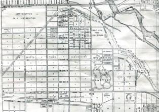 Idaho State Historical Society, G4272.S1 B63. 1941, Boise Map 1941