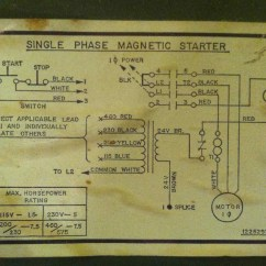 Magnetic Starter Wiring Diagram Hvac Fan Relay Siemens Motor Impremedia